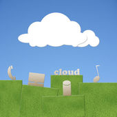 Cloud concept — Stock Photo