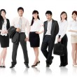 Asian business team — Foto de Stock
