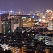 City night scene in Taipei — Stock Photo