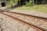 Rusty railroad — Stock Photo
