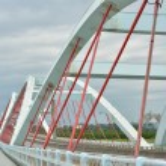 Taroko bridge — Stock Photo