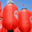 Asian red lanterns — Stock Photo #31331937
