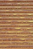 Rezavé železné stěny — Stock fotografie