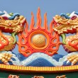 Dragon religious decoration  — Stock Photo