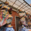 God statues in Grand Matsu temple — Stock Photo