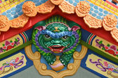 Qilin or Chi-lin traditional decoration — Stock Photo