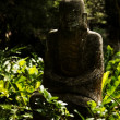Stock Photo: Ruined statue KsitigarbhBodhisattva