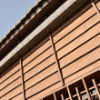 Part of wooden building — Stock Photo