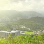 Taipei city skyline — Stock Photo