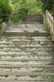 Hermosa escalera en el parque — Foto de Stock