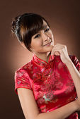Attractive Chinese woman — Stock Photo