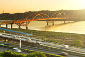 Guandu Bridge — Stock Photo
