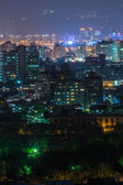 Colorful city night — Stock Photo