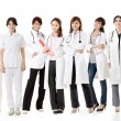 Stock Photo: Asian health care team