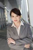 Portrait of attractive Asian business woman — Stock Photo