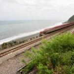 Coastline with railway — Stock Photo #40321921