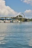 Suao port in taiwan — Stockfoto