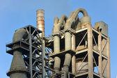 Zement-fabrik, fabrik — Stockfoto