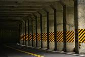 Road tunnel — Stockfoto