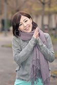 Asian young woman portrait — Stock Photo