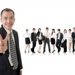 Peace or victory sign — Stock Photo