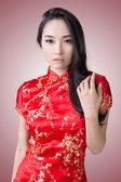 Sexy Chinese woman — Stockfoto