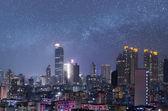 City night scene of Hong Kong — Stock Photo