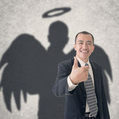 Business angel — Stock Photo
