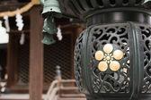 Japanese style lantern — Stock Photo