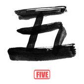 Chinese nummer woord, vijf — Stockfoto