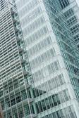 Office glass windows — Stock Photo