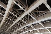 Metallic architecture of ceiling — Foto de Stock