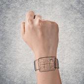 Digital watch — Stock Photo