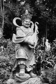 Ve věku asijské bůh socha — Stock fotografie