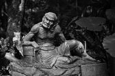 Arhat kanakbharadvaja socha — Stock fotografie