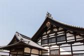 Japanese style roof of Kinkakuji — Stock Photo