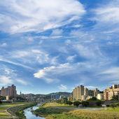 City scenery of park  — Stock Photo
