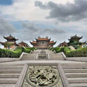 Chinese traditional temple — Stock Photo