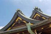 Japanese style roof — Stock Photo