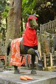Stone horse statue — Stock Photo