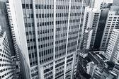 High angle view of city — Stockfoto