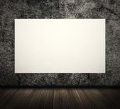 Tablero en blanco blanco — Foto de Stock