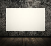 White blank board — Stock Photo