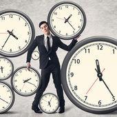 Time pressure concept — Stock Photo