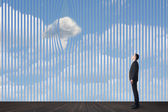 Concept of clouds — Stock Photo