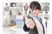 Give you a excellent sign — Stock Photo