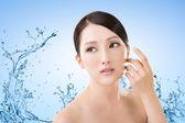 Asian beauty face — Stock fotografie