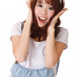 Excited young girl — Stock Photo #5455724