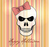 Halloween vector card / background. — Stock Vector