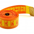 Measuring tape — Stock fotografie
